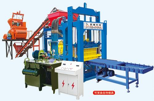 QT4-15型水泥砖机