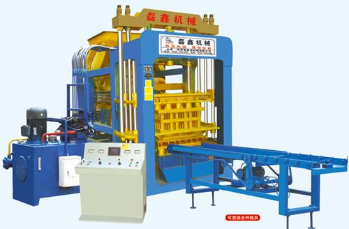 QT6-15C型免烧砖机