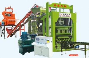 QT6-15B型液压制砖机