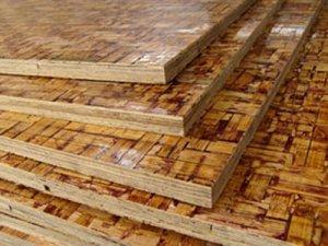 砖机用竹夹木托板